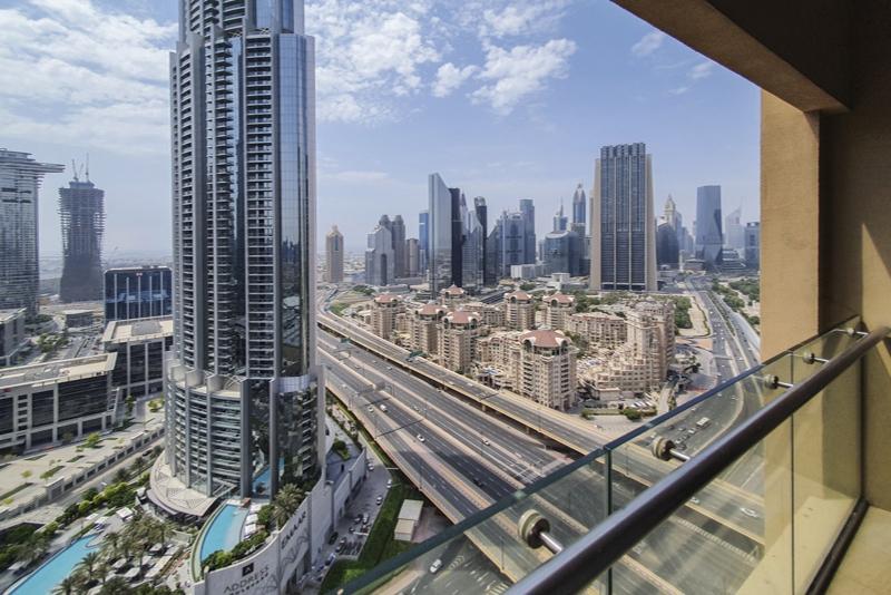 Studio Hotel Apartment For Rent in  The Address Dubai Mall,  Downtown Dubai | 9
