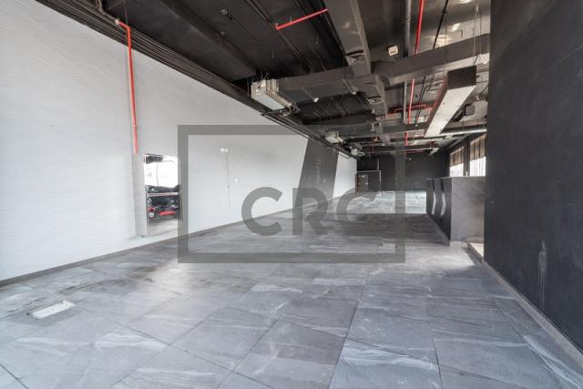 show room for rent in al garhoud, al nisf building   1