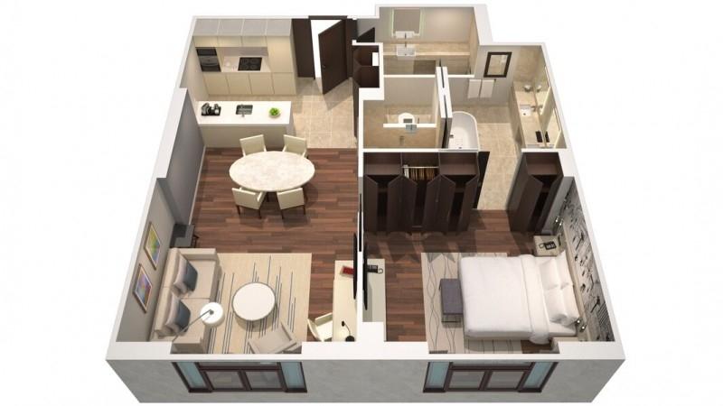 1 Bedroom Hotel Apartment For Rent in  La Ville Hotel & Suites,  City Walk | 12