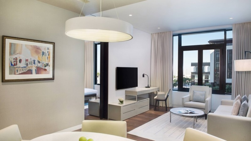 1 Bedroom Hotel Apartment For Rent in  La Ville Hotel & Suites,  City Walk | 4