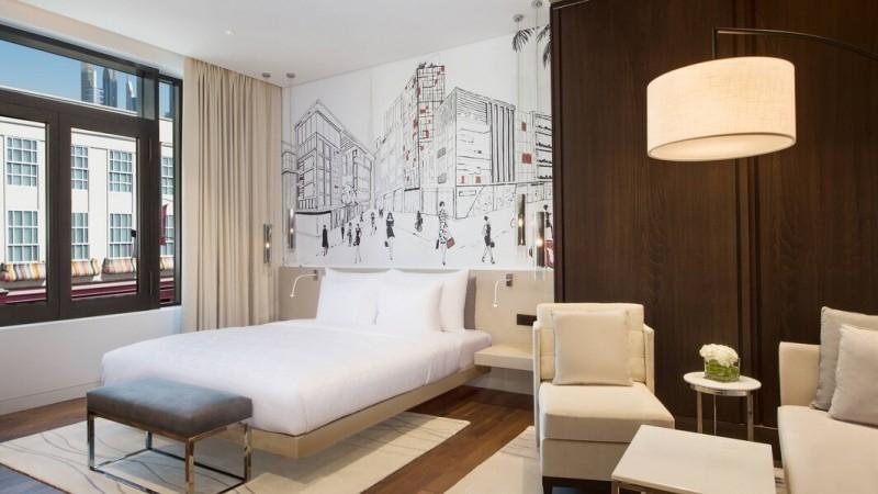 1 Bedroom Hotel Apartment For Rent in  La Ville Hotel & Suites,  City Walk | 2