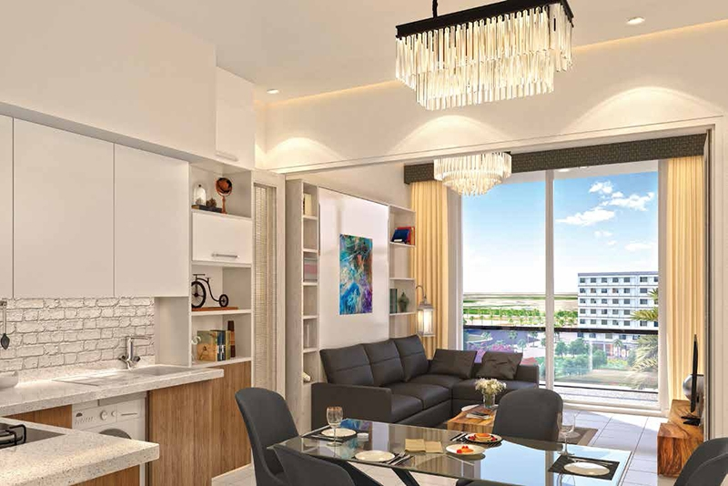 1 Bedroom Apartment For Sale in  Elz Residence,  Arjan   1