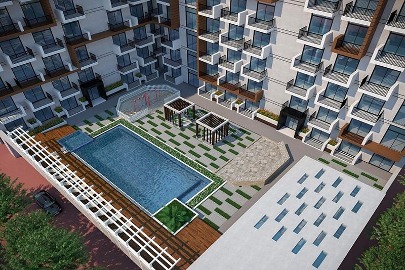 1 Bedroom Apartment For Sale in  Elz Residence,  Arjan   11