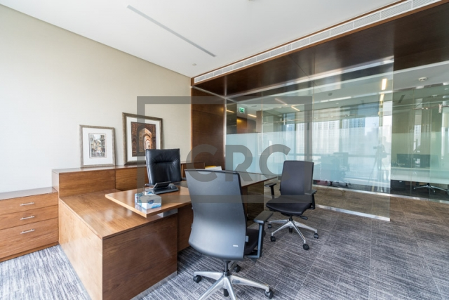 furnished office for sale in downtown dubai, boulevard plaza 1 | 2