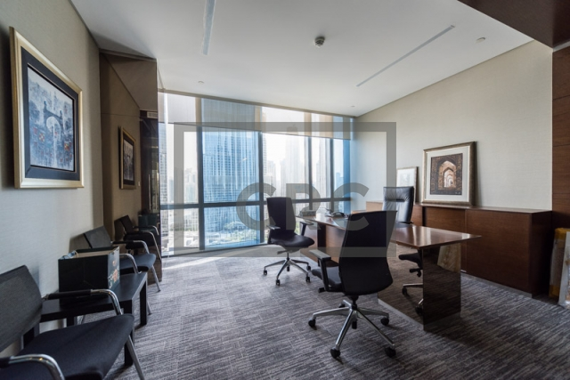 furnished office for sale in downtown dubai, boulevard plaza 1 | 7