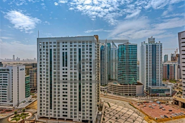 semi-furnished office for sale in barsha heights (tecom), grosvenor business tower | 14
