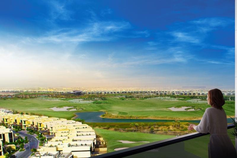 1 Bedroom Apartment For Sale in  Golf Vita A,  DAMAC Hills (Akoya by DAMAC) | 3