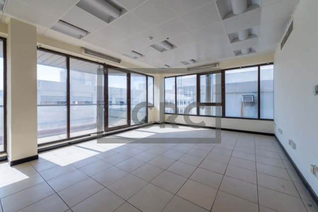 office for rent in karama, yellow building | 5