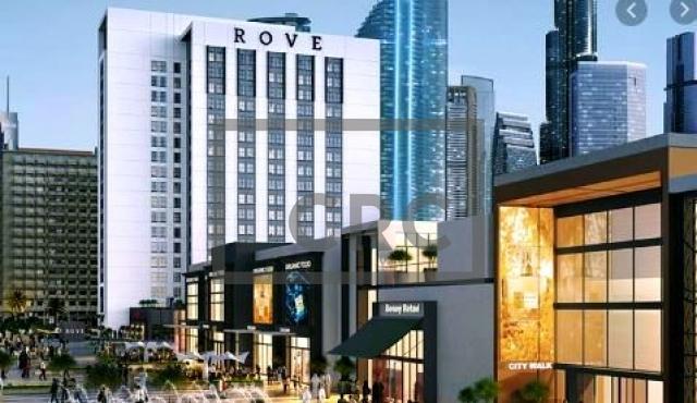 hotel apartment for sale in city walk, rove city walk | 1