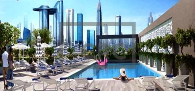 hotel apartment for sale in city walk, rove city walk | 5