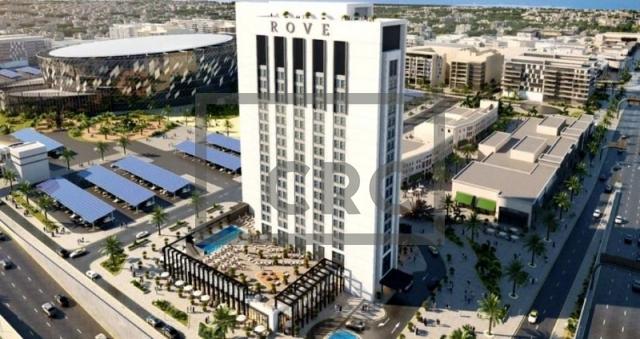 hotel apartment for sale in city walk, rove city walk | 8