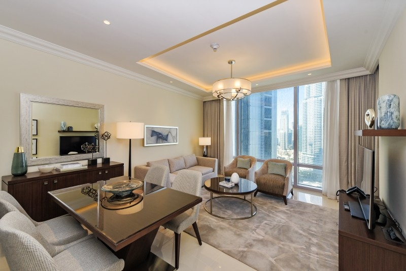 1 Bedroom Hotel Apartment For Rent in  The Address Residence Fountain Views 1,  Downtown Dubai | 7