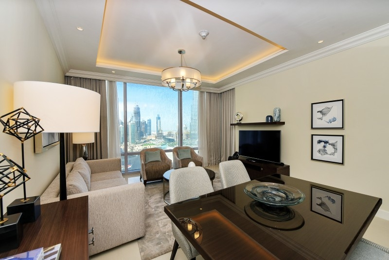 1 Bedroom Hotel Apartment For Rent in  The Address Residence Fountain Views 1,  Downtown Dubai | 5