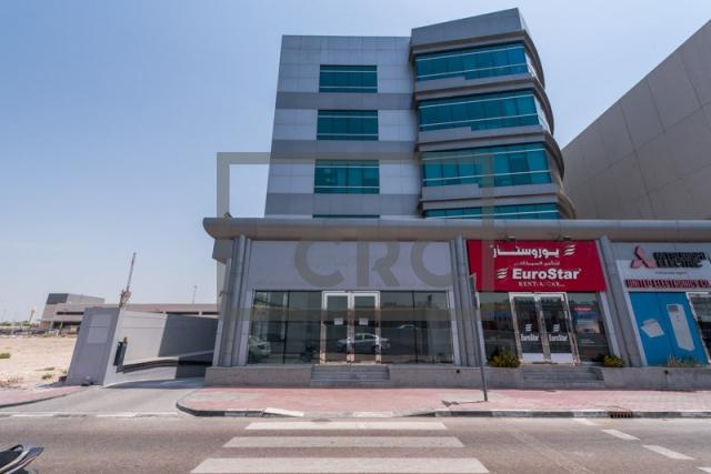 semi-furnished office for rent in al garhoud, al nisf building | 13
