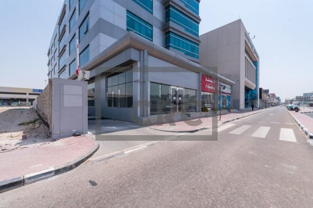 semi-furnished office for rent in al garhoud, al nisf building | 11