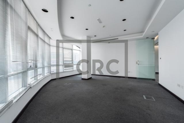 semi-furnished office for rent in al garhoud, al nisf building | 10