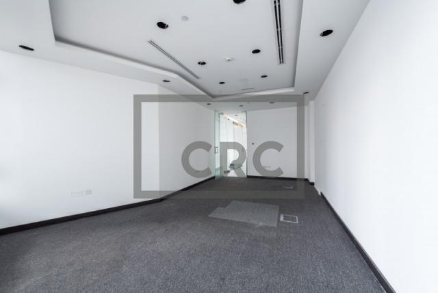 semi-furnished office for rent in al garhoud, al nisf building | 5