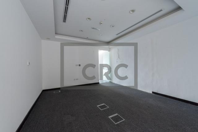 semi-furnished office for rent in al garhoud, al nisf building | 8