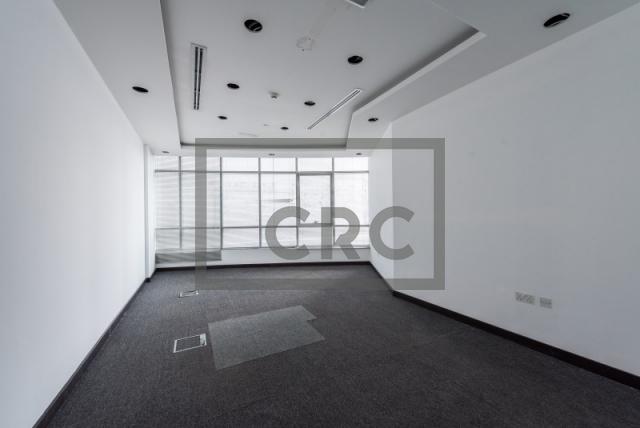 semi-furnished office for rent in al garhoud, al nisf building | 16