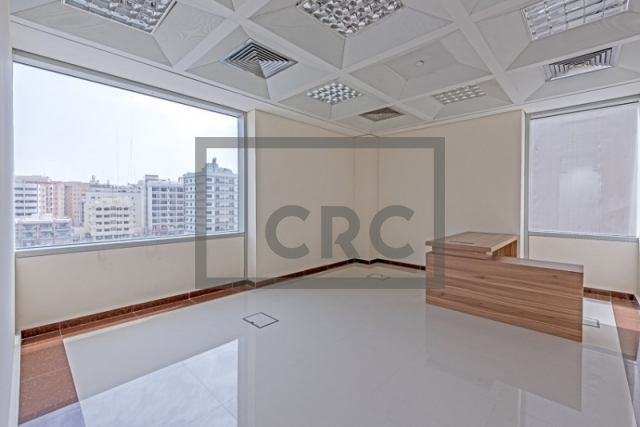 semi-furnished business center for rent in deira, port saeed   7