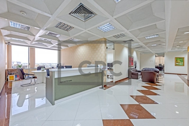 semi-furnished business center for rent in deira, port saeed   13