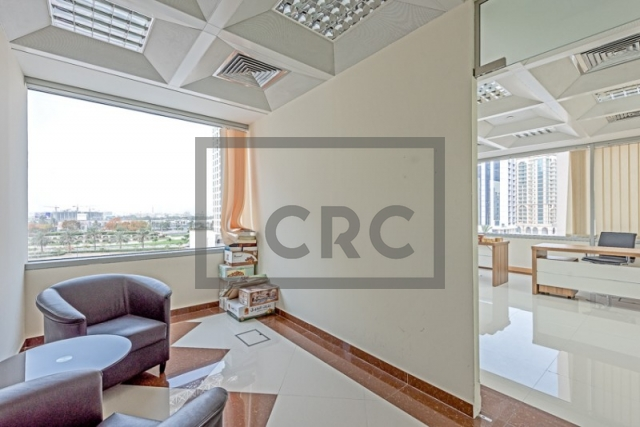 semi-furnished business center for rent in deira, port saeed | 9