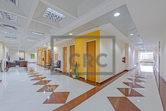 semi-furnished business center for rent in deira, port saeed | 10