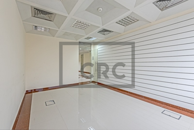semi-furnished business center for rent in deira, port saeed | 1