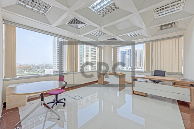 semi-furnished business center for rent in deira, port saeed | 13