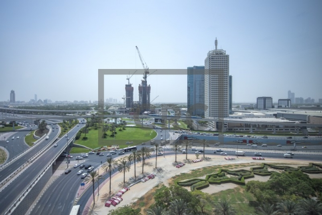 office for rent in sheikh zayed road, the h hotel | 6