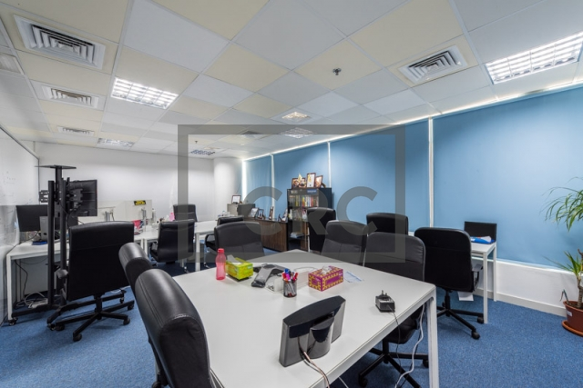 942 sq.ft. Office in Business Bay, Clover Bay Tower for AED 715,000