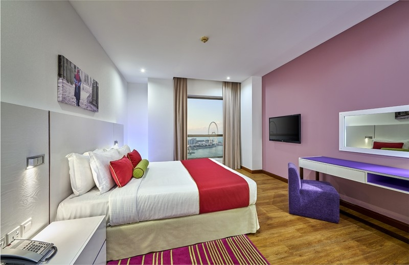 1 Bedroom Hotel Apartment For Rent in  Ramada Hotel And Suites by Wyndham Dubai JBR,  Jumeirah Beach Residence   0