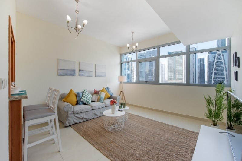 1 Bedroom Apartment For Short Term Rental in  Marina Residence B,  Dubai Marina | 1