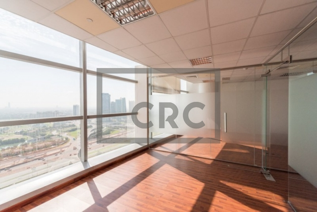 2,825 sq.ft. Office in Dubai Media City, Shatha Tower for AED 452,000