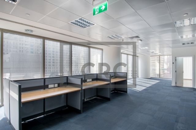8,844 sq.ft. Office in Sheikh Zayed Road, Al Saqr Business Tower for AED 707,520