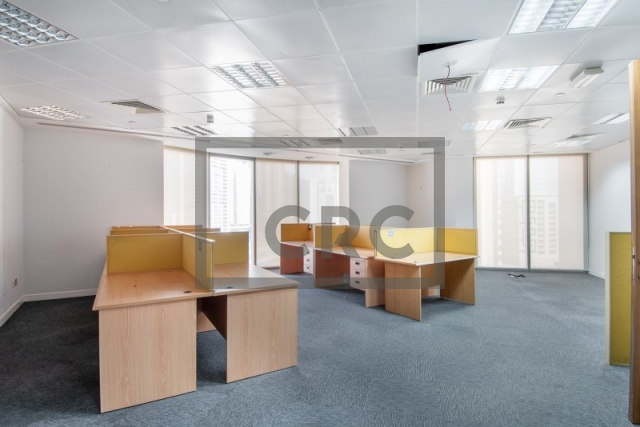 office for rent in sheikh zayed road, al saqr business tower | 3