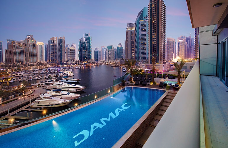 Damac Heights, Dubai Marina