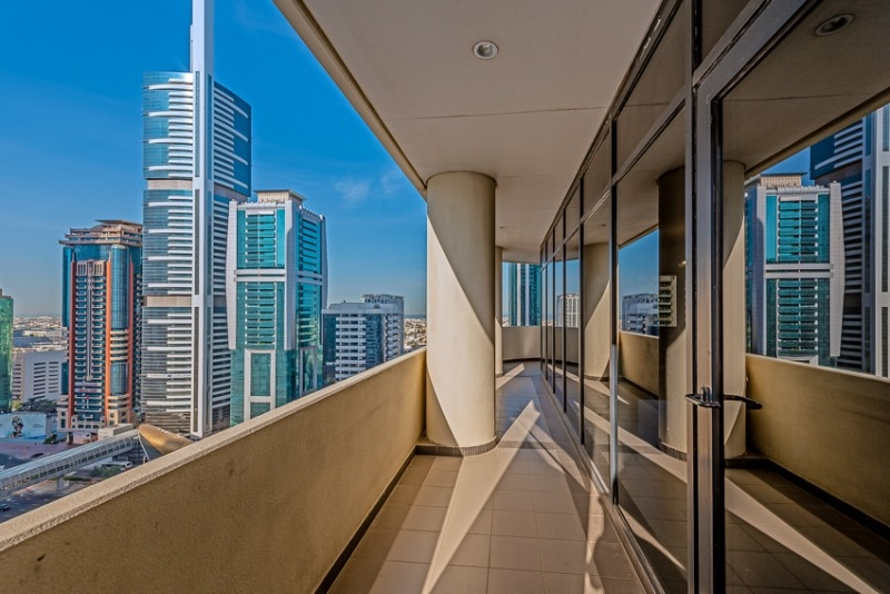 3 Bedroom Apartment For Rent in  Ghaya Residence,  Sheikh Zayed Road | 14
