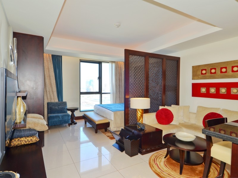 Studio Hotel Apartment For Rent in  The Address Downtown Hotel,  Downtown Dubai   0