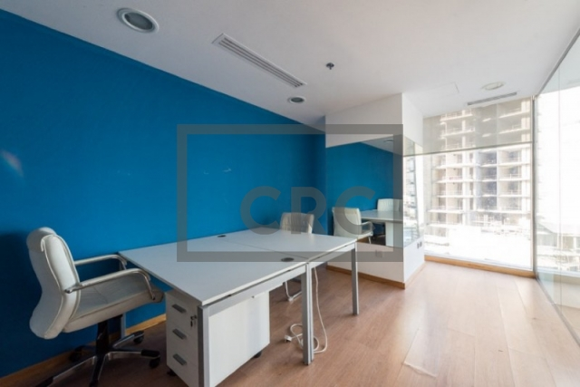 795 sq.ft. Office in Business Bay, The Binary Tower for AED 73,000