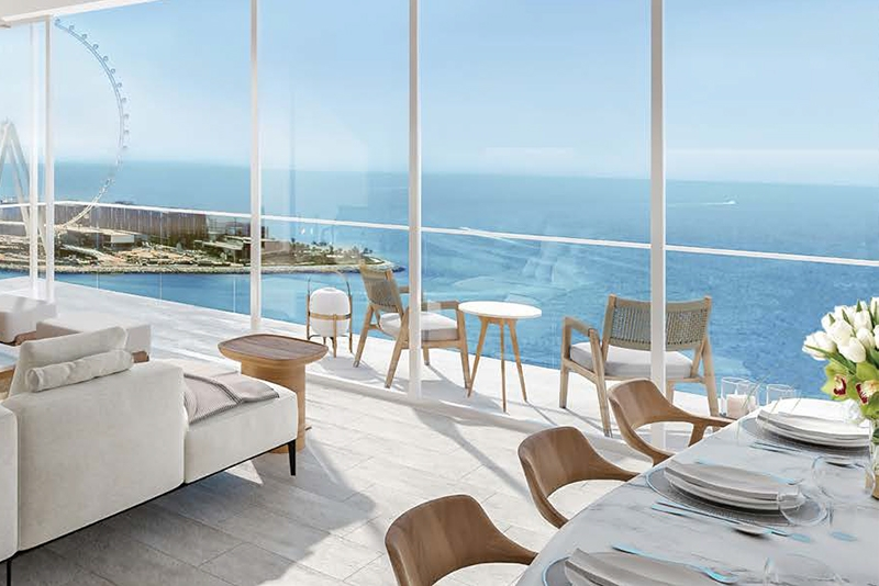 1 Bedroom Apartment For Sale in  La Vie,  Jumeirah Beach Residence | 3