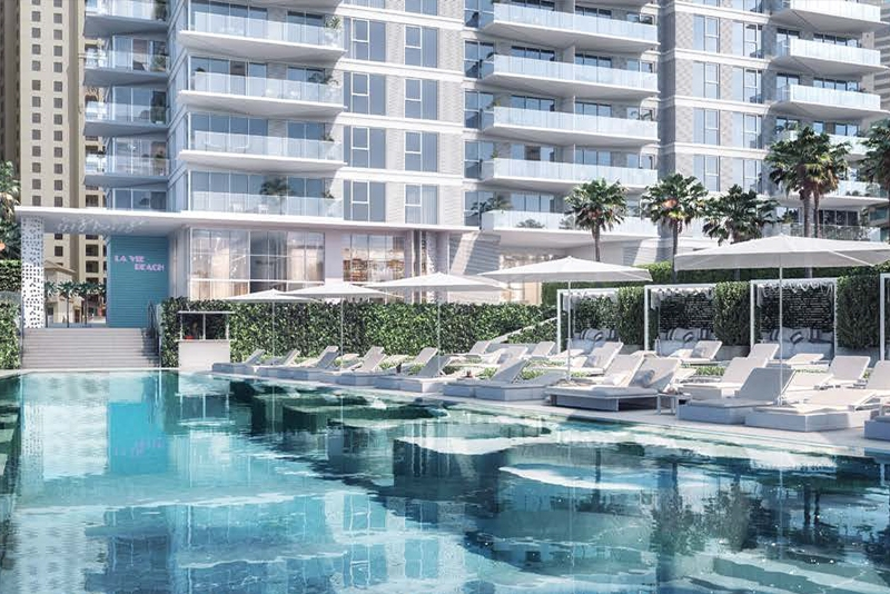 1 Bedroom Apartment For Sale in  La Vie,  Jumeirah Beach Residence | 14