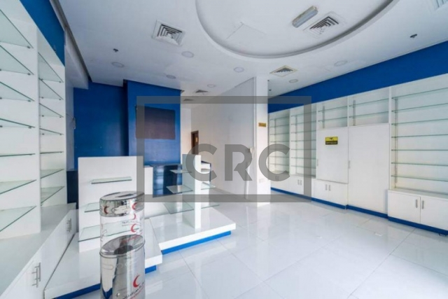 semi-furnished retail for rent in muhaisnah, muhaisnah 4 | 1
