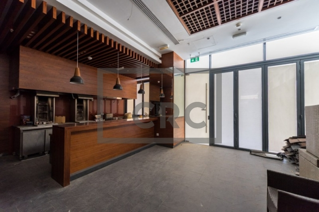 semi-furnished retail for rent in business bay, bay square building 7   3