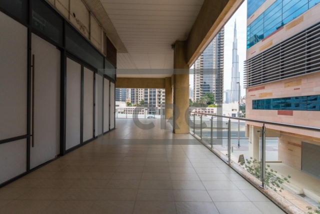 semi-furnished retail for rent in business bay, bay square building 7   5