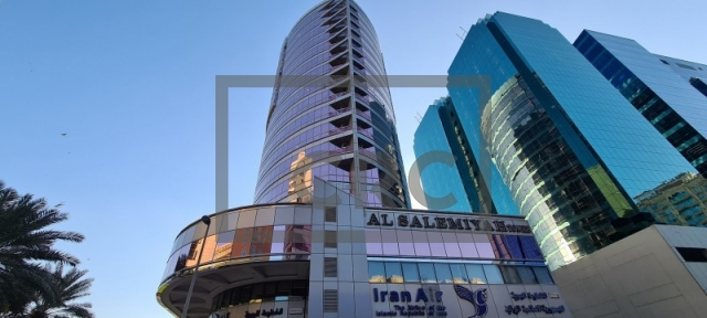 office for rent in deira, salemiyah tower | 10