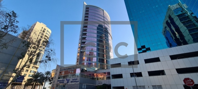 office for rent in deira, salemiyah tower | 1