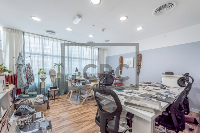 1,354 sq.ft. Office in Business Bay, Sobha Ivory Tower 1 for AED 860,000