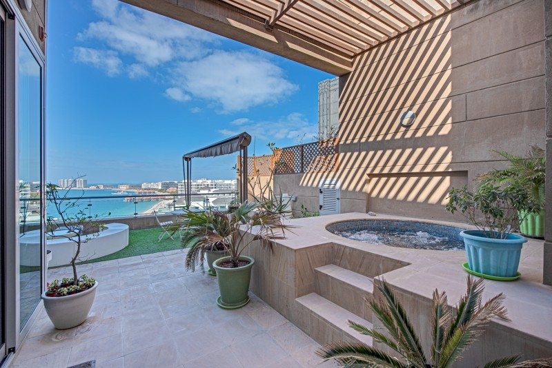 4 Bedroom Penthouse For Sale in  Dream Palm Residence,  Palm Jumeirah | 8