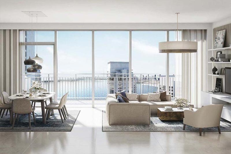 2 Bedroom Apartment For Sale in  Harbour Views 1,  Dubai Creek Harbour (The Lagoons) | 2
